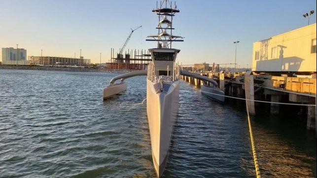 unmanned surface vessel US Navy autonomous