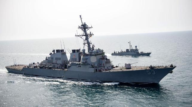 US Navy Saudi exercise in Arabaia Gulf