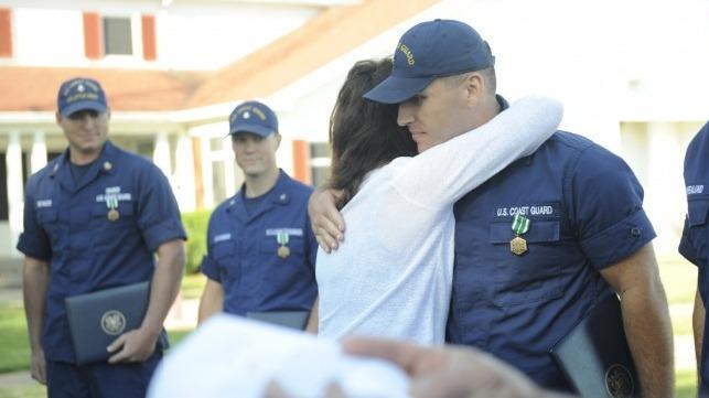 Heroic Rescue Near Port Of Virginia