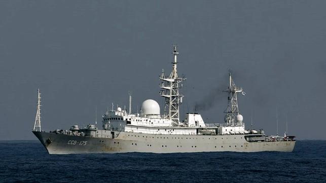 Image result for Russian warship Viktor Leonov