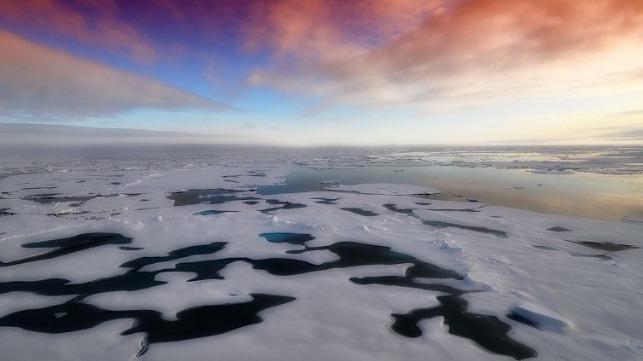 tanker ice warming