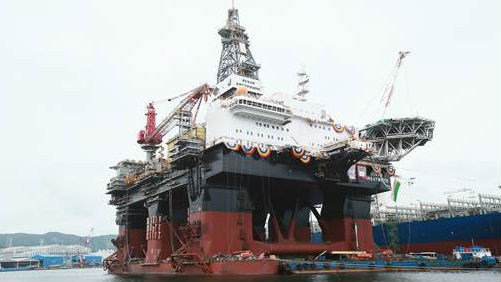 World's Largest Semi-Submersible Rig Delivered