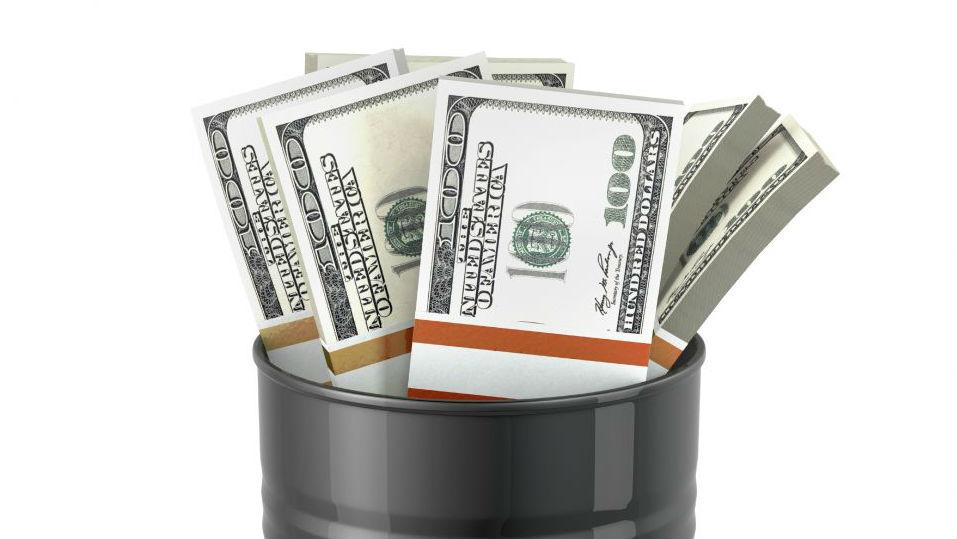 oil barrel money