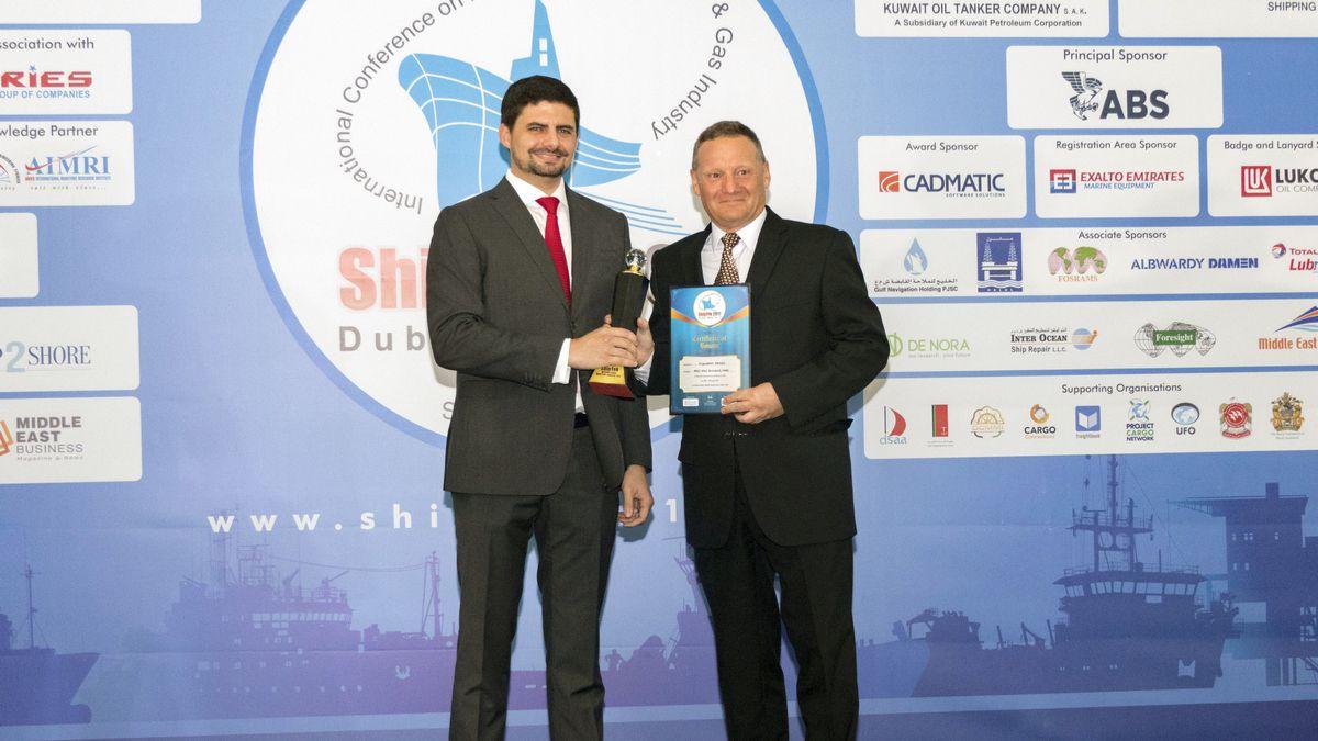 Albwardy Damen Wins Two Ship Repair Awards in 4 Weeks