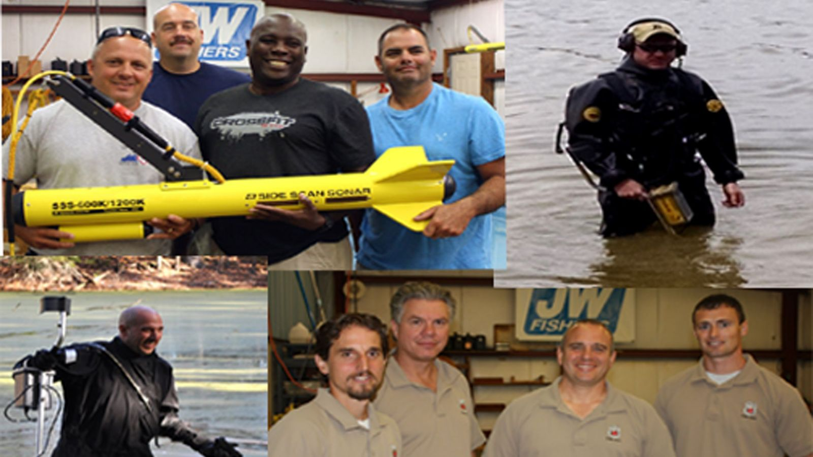 Dive Teams Depend on Detection Devices