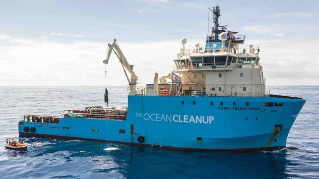 Maersk expands and extends efforts to support removal of plastic from ocean