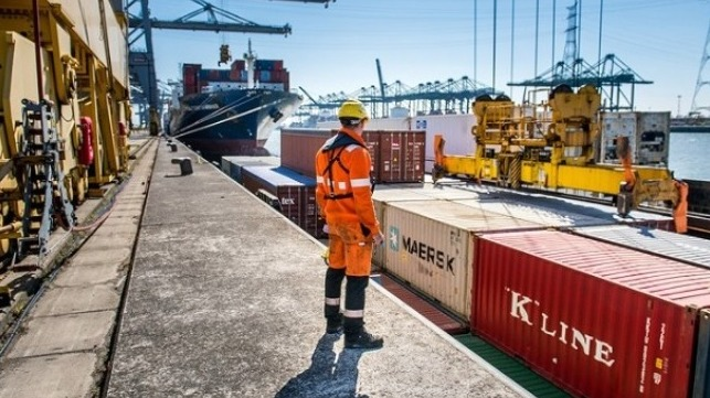 Port of Antwerp using digital technology to enhance and secure release of containers