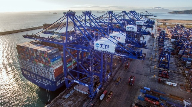 HMM is selling half interest in Algeciras terminal to CMA CGM