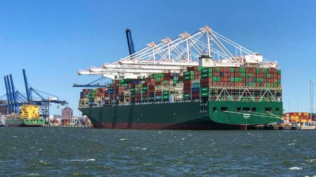 Port of Baltimore Welcomes Largest Container Ship Ever