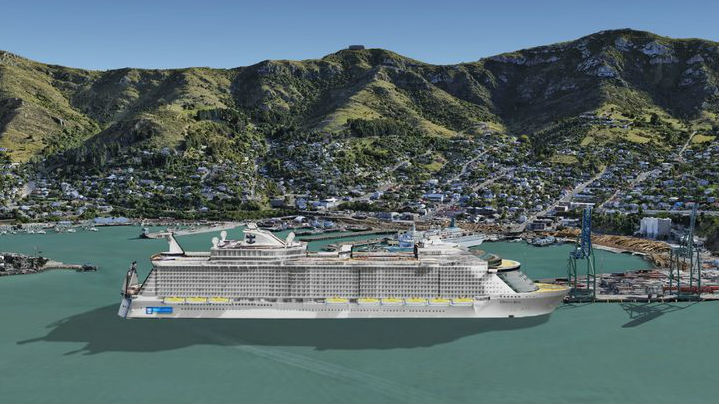 New Cruise Ship Berth For New Zealand - New zealand cruises