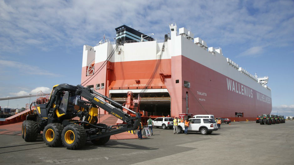 Northwest Auto Brokers >> HERO-Class Car Carrier Debuts at U.S. Ports