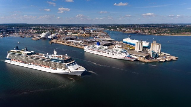 Southampton to become UK's first commercial portwith shore power