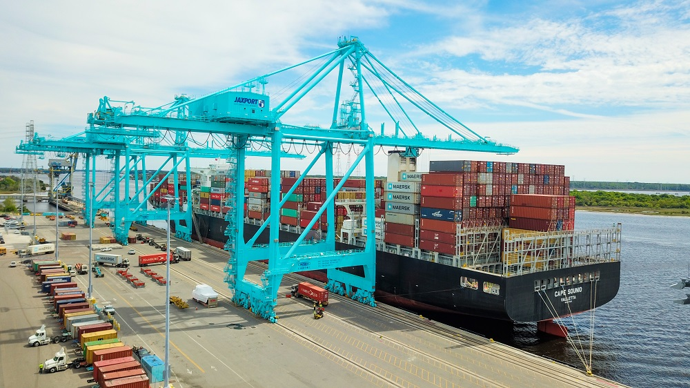 Photos: Jaxport Welcomes Largest Container Ship Ever