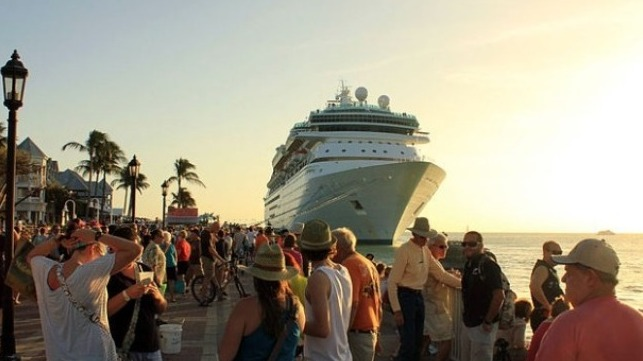 Efforts to ban cruise ships in Key West Florida