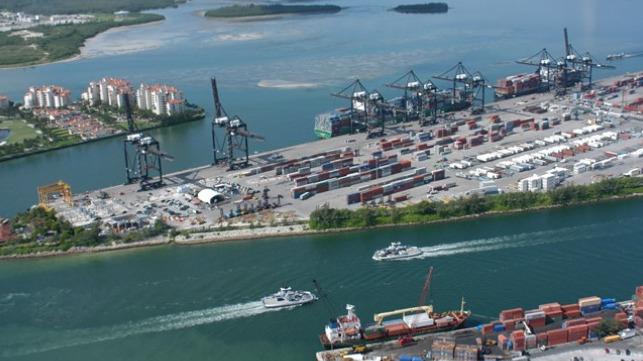 file photo of PortMiami