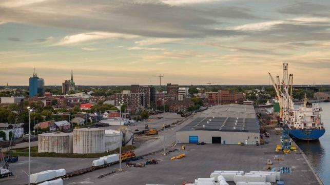 Port of Trois-Rivières