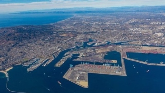 California ports all report records