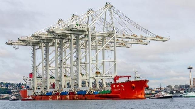 Seattle container port expansion modernization