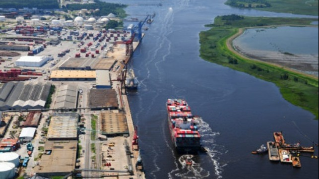 Wilmington study to improve large vessel access to the port