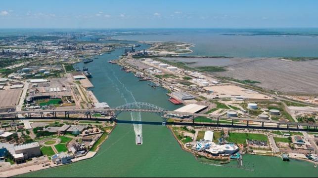 LNG bunkering marine fuel Corpus Christi