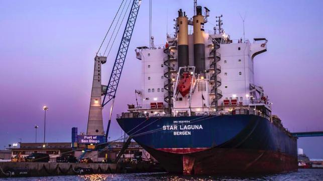 Port of San Diego Wins G2 Breakbulk Liner Service