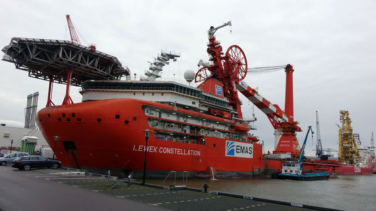 Ezra Christens Subsea Construction Vessel