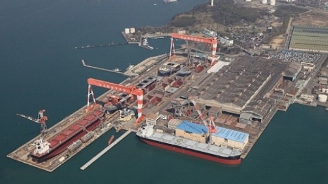 mid-sized shipyards Japan and Norway