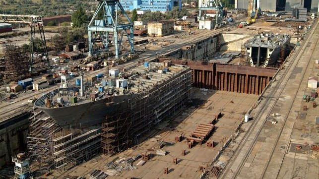 shipbuilding orderbook at 30 year low