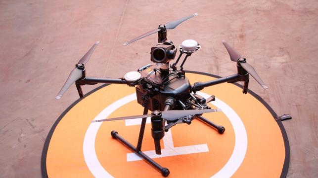 Survey Drones Take Off