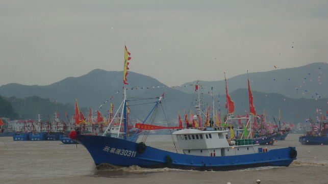 fishing vessels chinese festival
