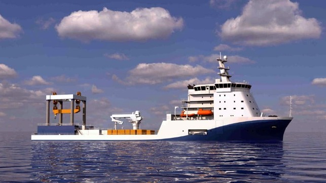 new Chinese marine research vessel