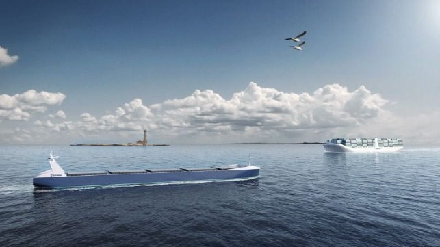 ports join network to develop autonomous shipping