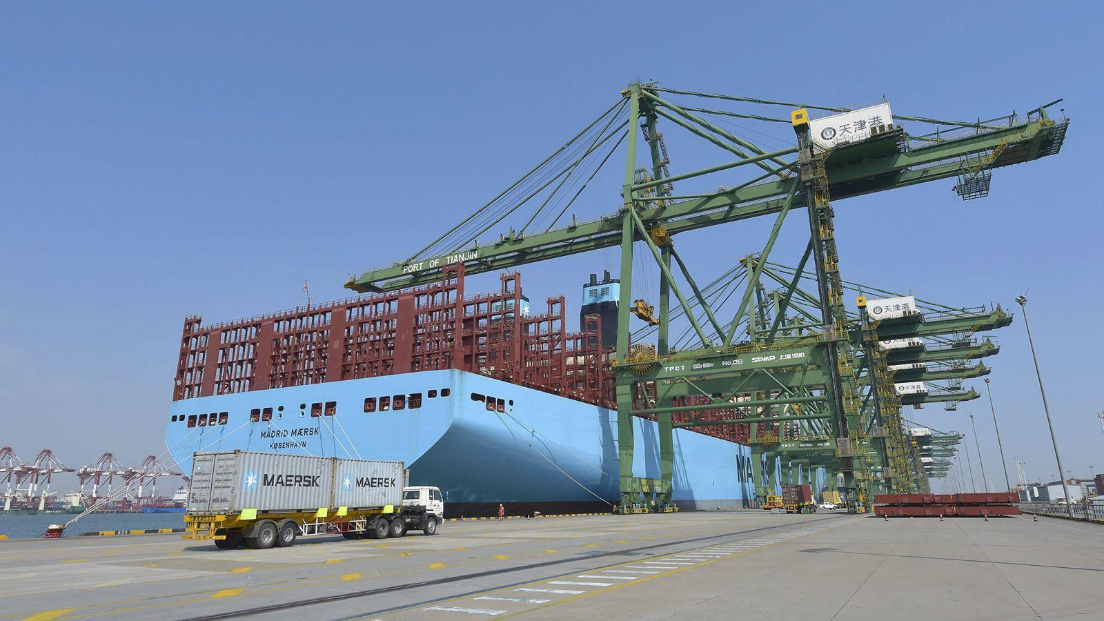 Madrid Maersk Makes Maiden Port Call