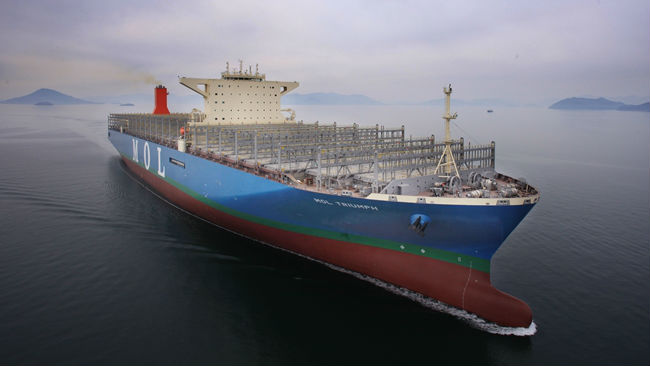 World's Largest Container Ship Delivered