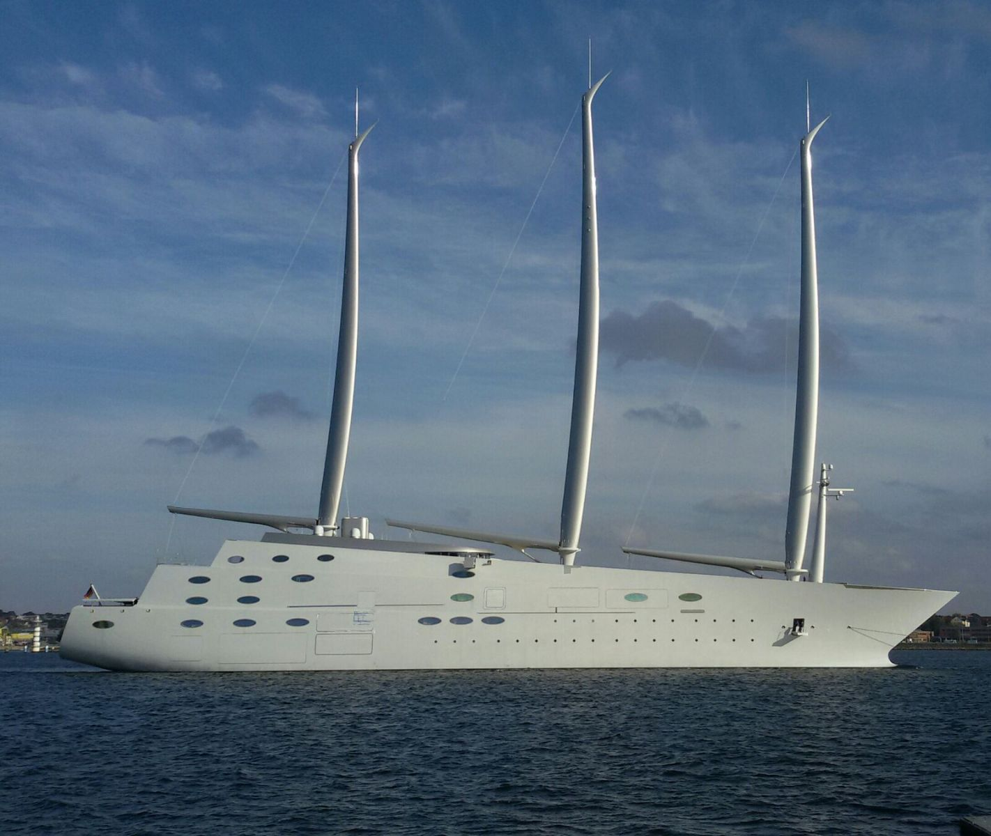 World's Largest Sailing Yacht Arrested in Gibraltar