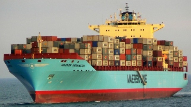Maersk to test air lubrication system