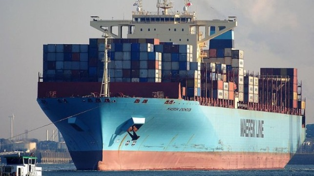 Maersk explains container loss at sea off Japan