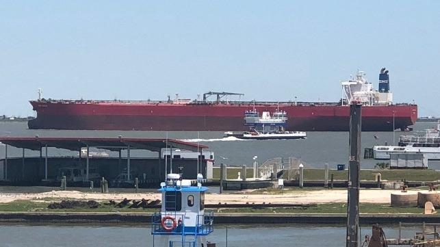 Texas City Oil Terminal Hosts First VLCC