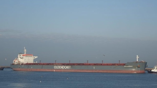bulkers crew tests positive for COVID-19