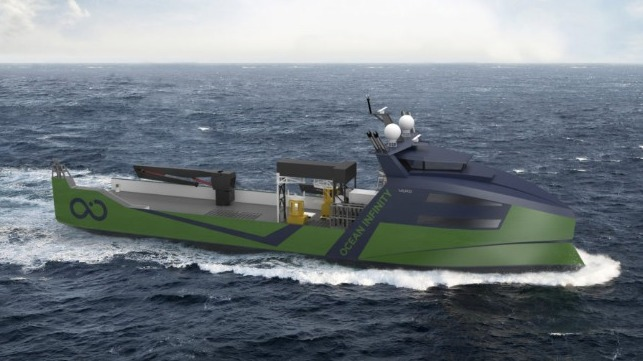 larges marine robotic vessels