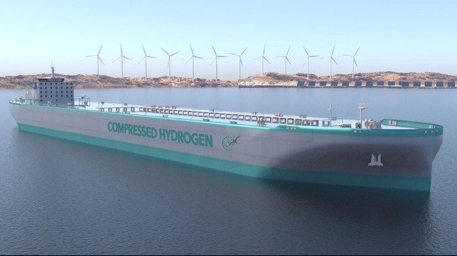 hydrogen fuel cells for ocean-going and inland waterways