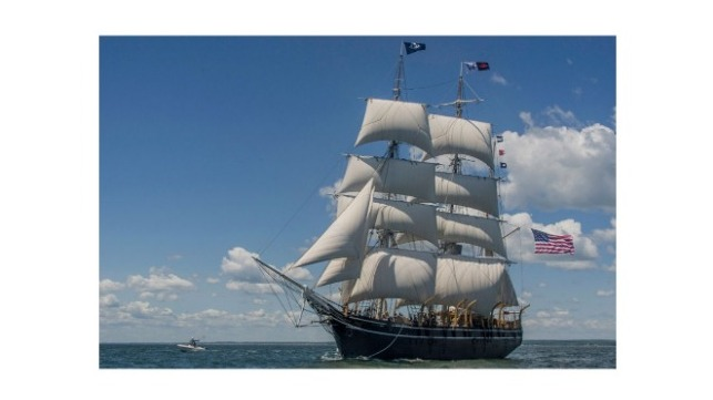 The Charles W. Morgan is the last of an American whaling fleet that once numbered more than 2,700 vessels. Ships like the Morgan often used routes defined by the trade winds to navigate the oceans.