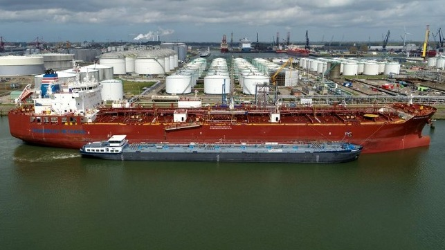 first bage bunkering of methanol as marine fuel