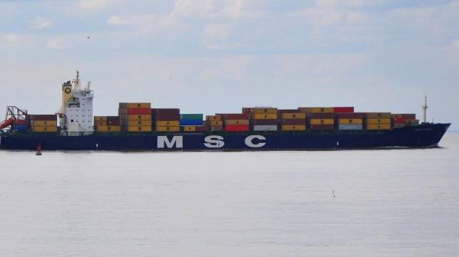 Pirates Kidnap Crewmembers from MSC Container Ship