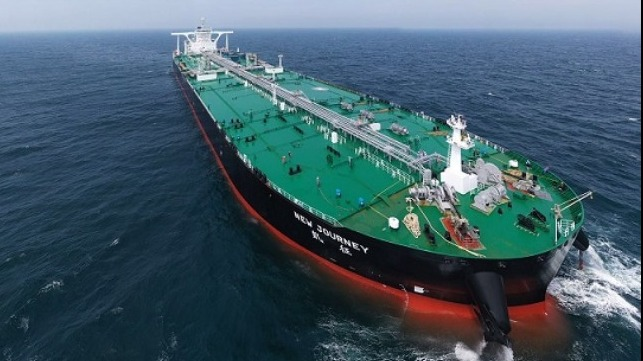 """China Delivers """"Smart"""" VLCC"""