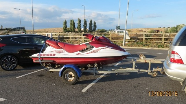 Human Smugglers Bought Jet Ski For Cross Channel Trips