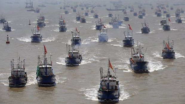 Image result for chinese fishing vessels