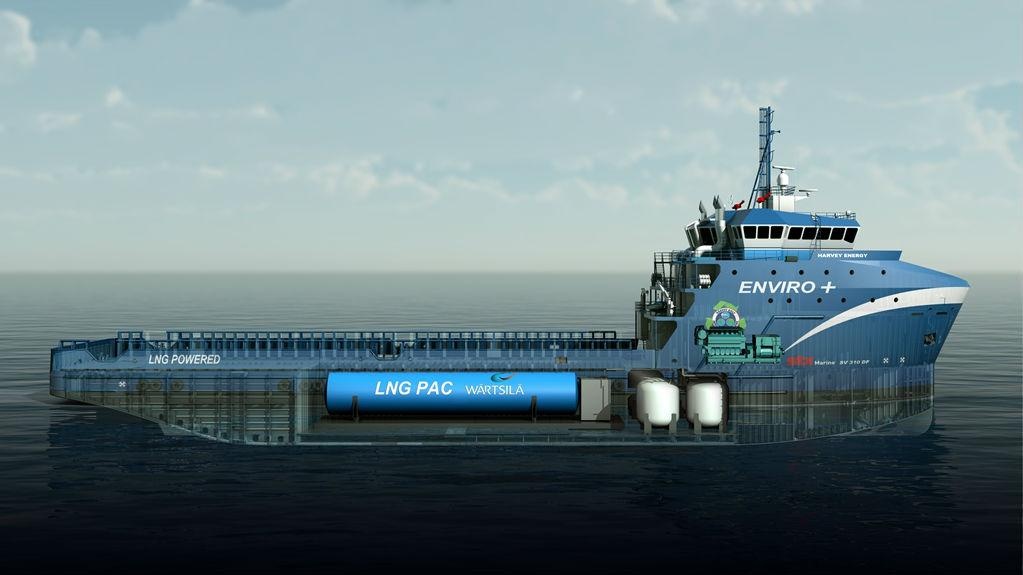 First Lng Bunkering Of U S Osv