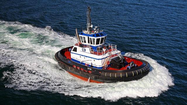 Eastern Shipbuilding Group, Inc  delivers the TRITON Escort Tug