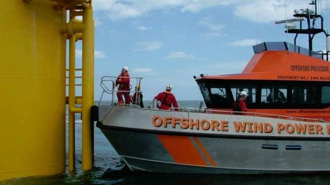 Construction Begins On First Offshore Transfer Vessel For U S